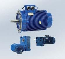 Heavy duty roller table motors