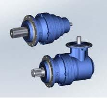 New planetary gear reducers (1600...21200 Nm)