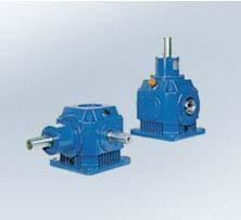 Right angle shaft gear reducers